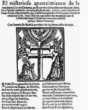 historia cruz de caravaca