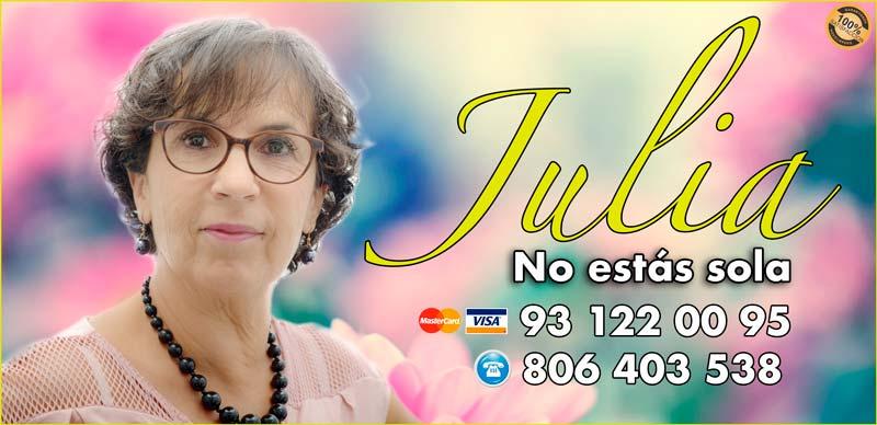 Julia- vidente y tarotista buena y barata