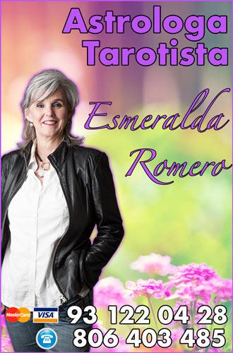 Mejores tarotistas por telefono - tarotista Esmeralda Romero