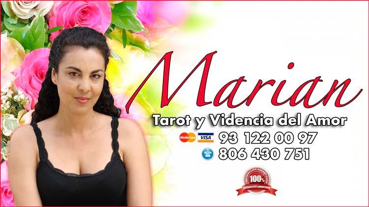 tarotista Marian - Tirada de cartas del tarot del amor