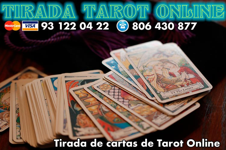 tiradas de cartas del tarot online