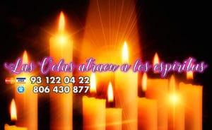 Las velas atraen a los espiritus