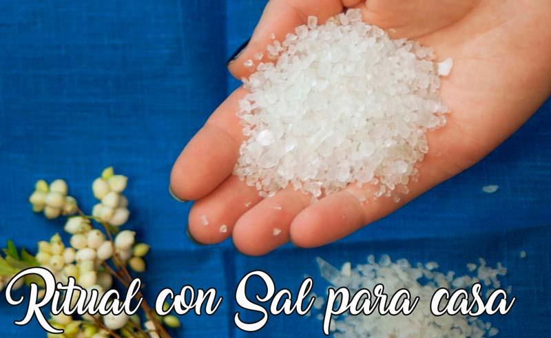 limpiar la casa de malas energías con sal